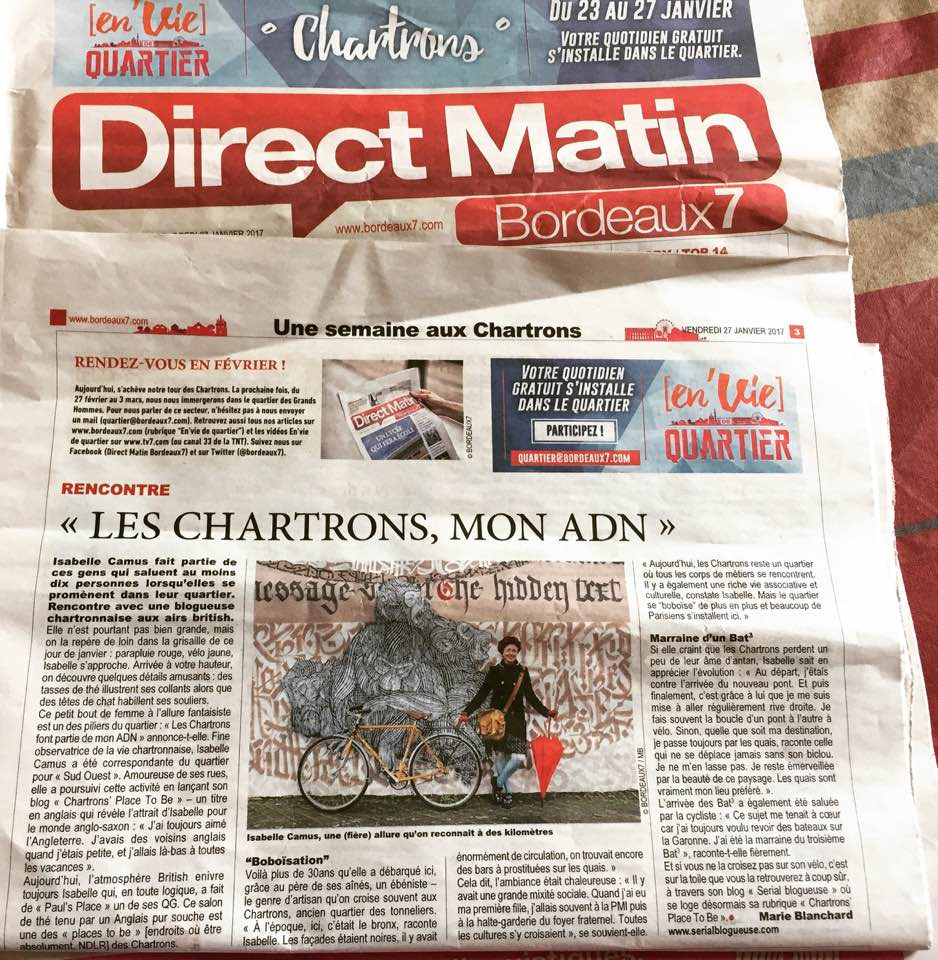 DirectMatin-Bordeaux7-Isabelle Camus- Serialblogueuse-Blogueuse-Bordeaux-Marie Blanchard-Chartronsplacetobe-Chartrons