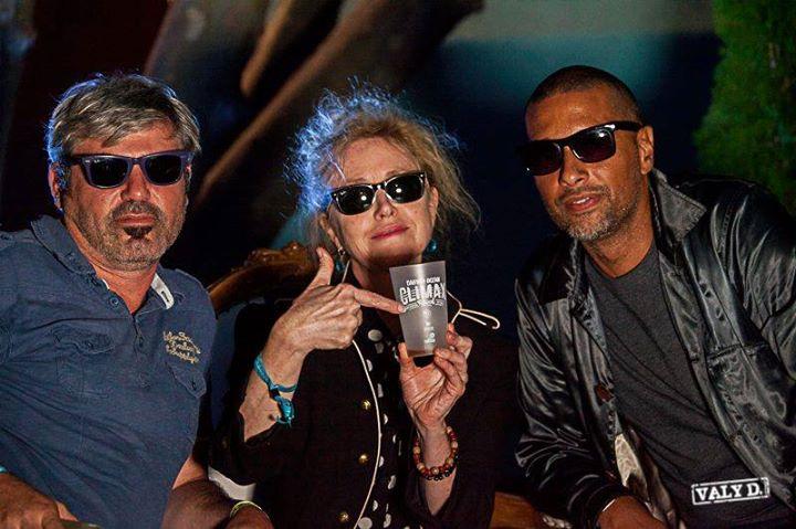 Christophe Foubert, Isabelle Camus et Antoine Chaput, la biotiful team au taquet pendant le Darwin Ocean Climax Festival #2 (2016)