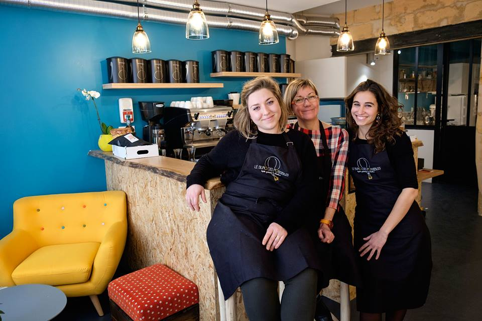 La biotiful team Le Bureau des possibles Salon de thé Coworking Bordeaux