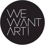 Logo We Want Art!