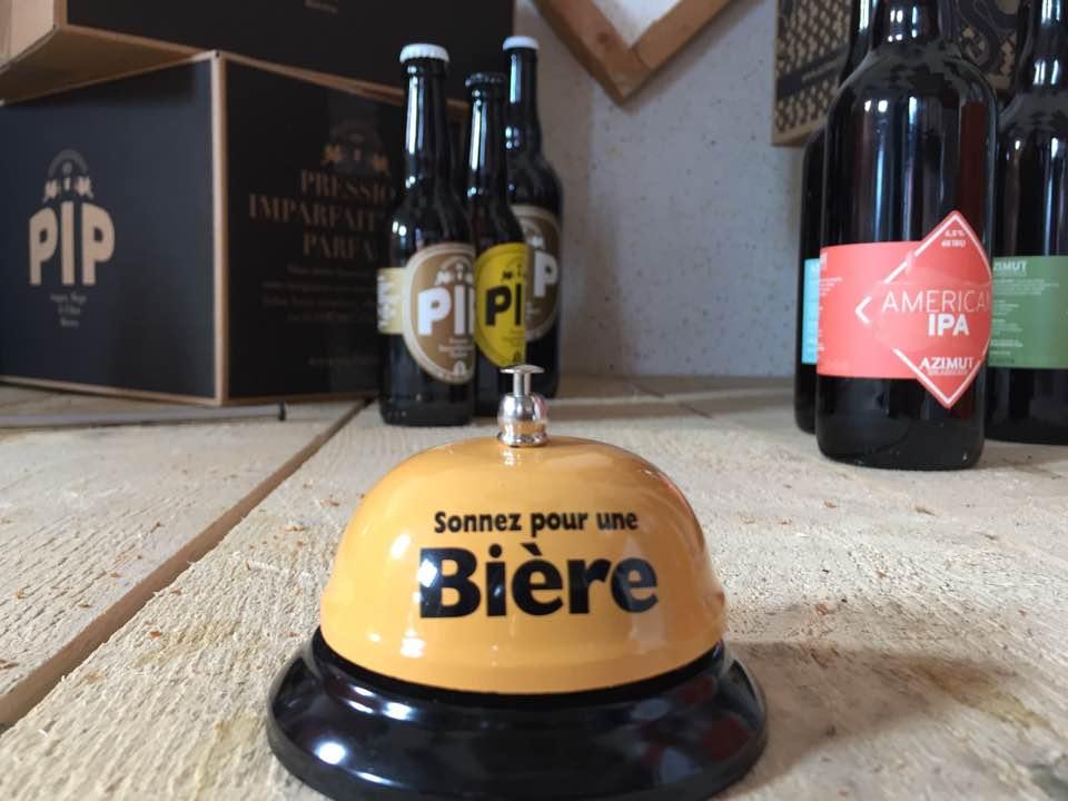 Un même lieu mutualisé pour deux brasseries la Pip et l'Azimut, craft beers