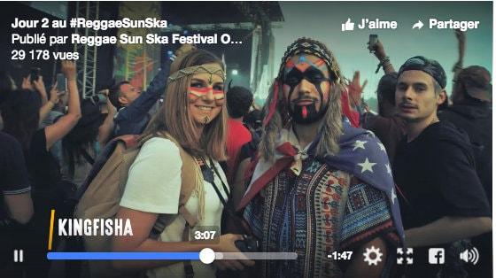 Jaune, vert, rouge, les couleurs du Reggae Sun Ska Festival pour Serial Blogueuse