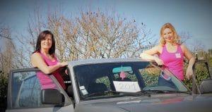 Maryline et Christine ou comment rouler pour donner