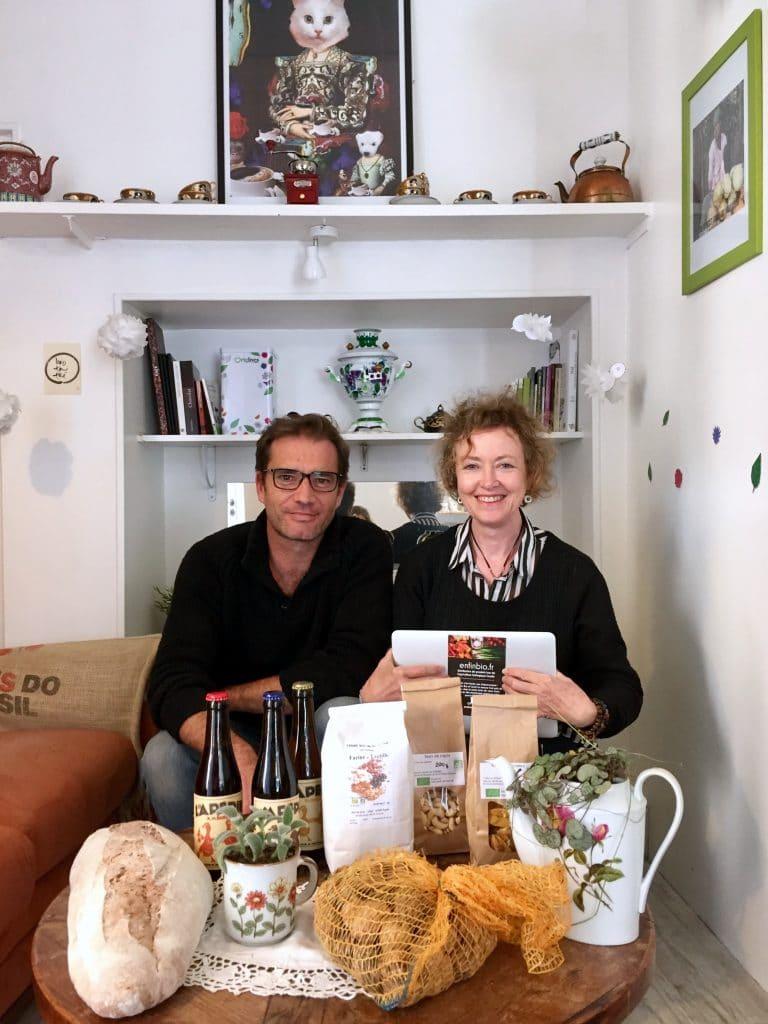 Laurent Barthet et Isabelle Camus en mode interview