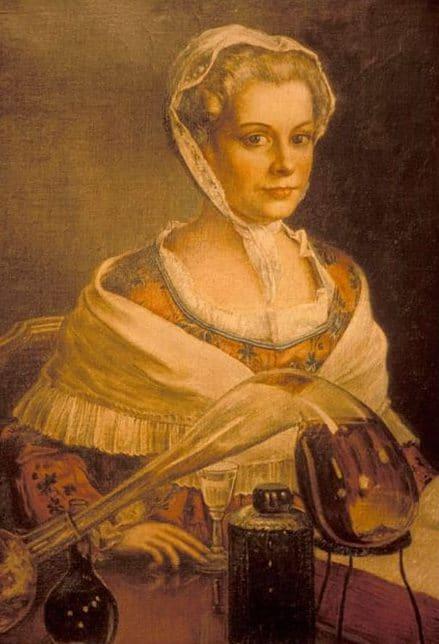 Les alambics de Marie Brizard en train d'inventer sa fameuse liqueur.