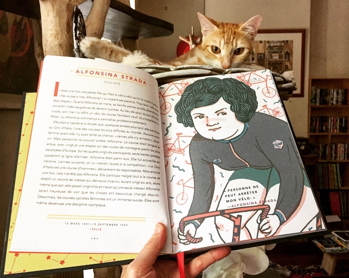 Alfonsina Strada illustrée par Cristina Portolano