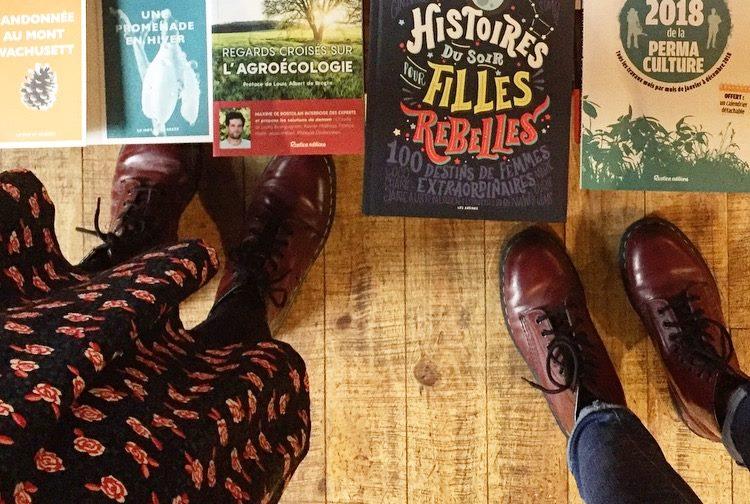 Les Femmes extraordinaires aiment souvent les livres et fréquentent les librairies
