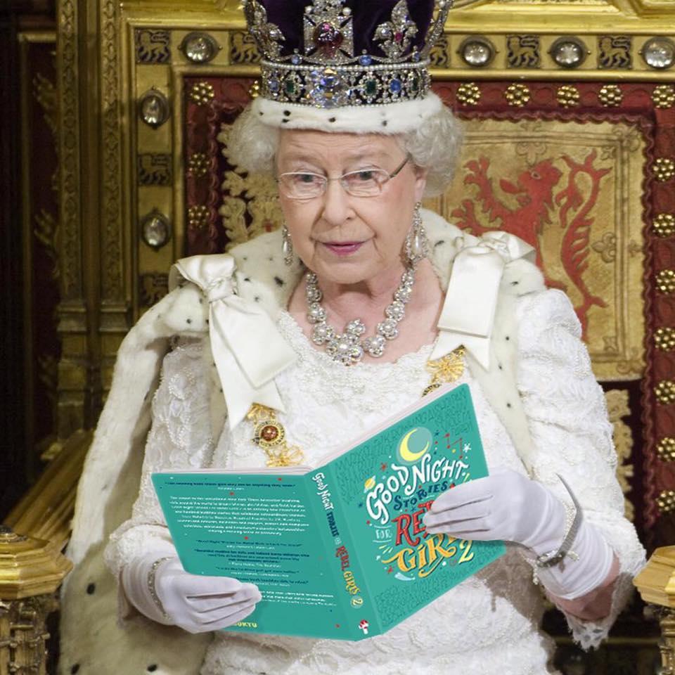 Parce que même les reines peuvent aimer les histoires de femmes rebelles