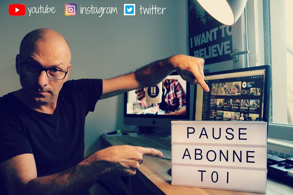 Stéphane Chaumeau le fondateur de la chaine Pause l'émission musicale