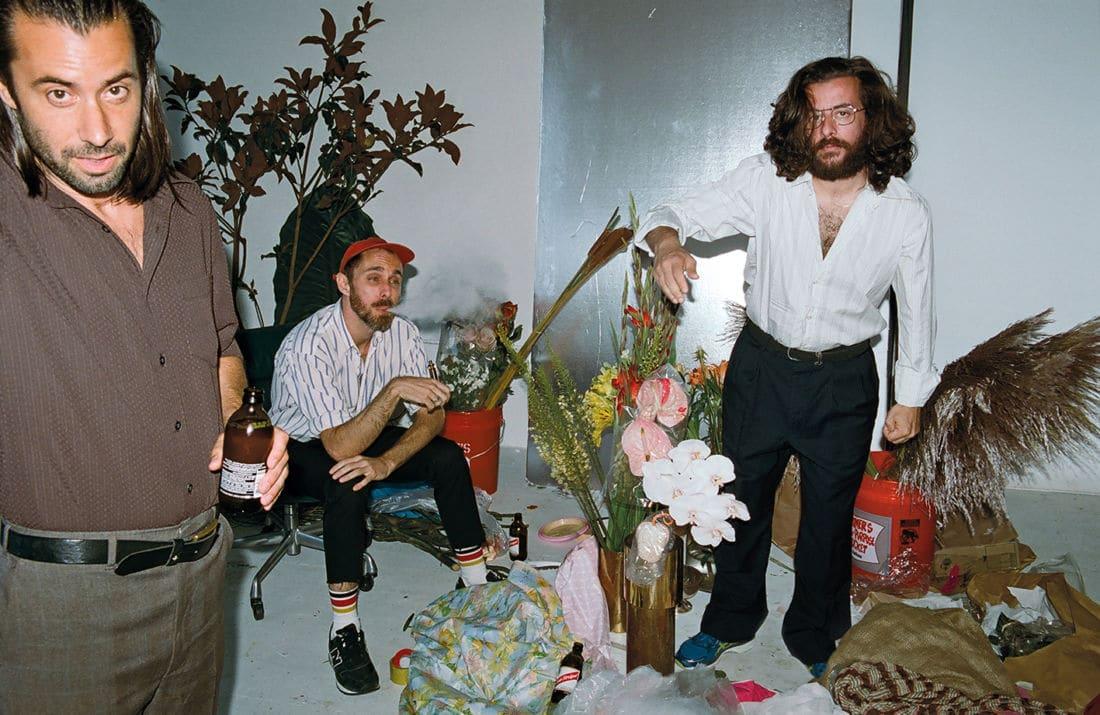 Le groupe Odezenne photographié à New York