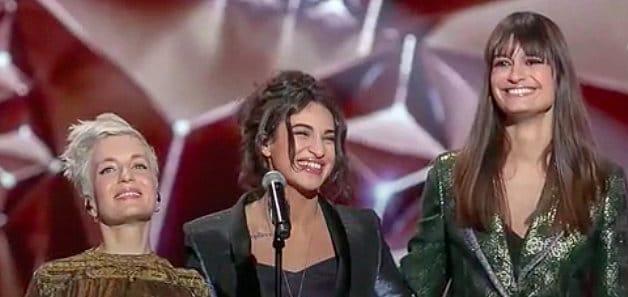 Le tiercé gagnant au féminin des Victoires de la Musique 2019 où ne manque qu'Angèle.