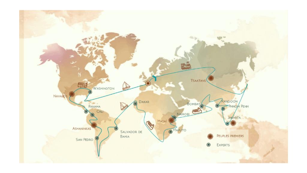 Les Nouvelles des Horizons sur 3 continents différents