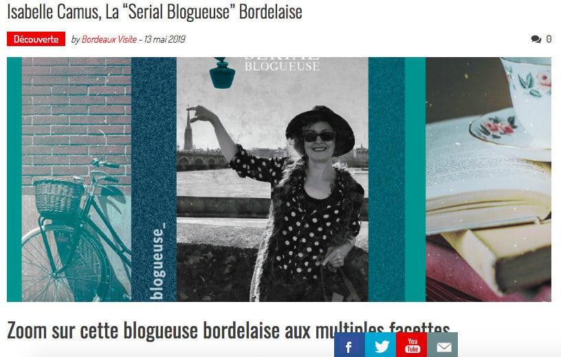 Bordeaux Visite feat Serial blogueuse