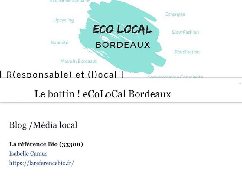 La Référence bio média de Bordeaux
