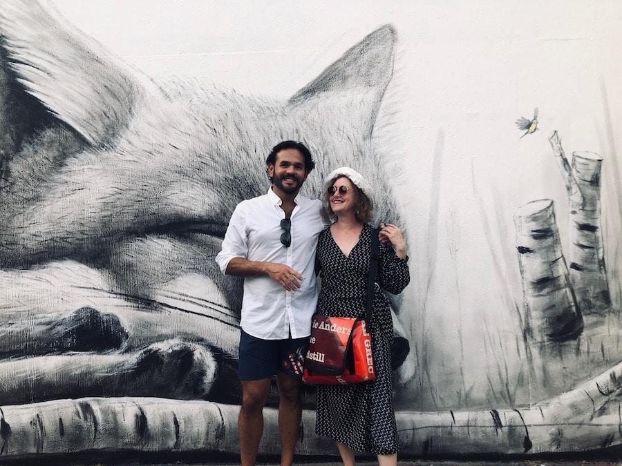 Un artiste mexicain et une blogueuse chartronnaise